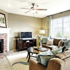 Traditional Family Room by Richmond American Homes - Denver