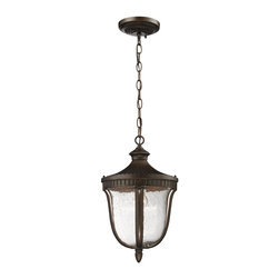 Elk Lighting - Elk Lighting 27002/1 1 Light Outdoor PendantWorthington Collection - Welcome guests with the charm of a classic lantern.