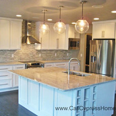 Traditional Kitchen by Cypress Homes, Inc.