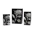 Cyan Design - Cyan Design Medium Wild Dandelion Vase in Black and White - Medium Wild Dandelion Vase in Black and White