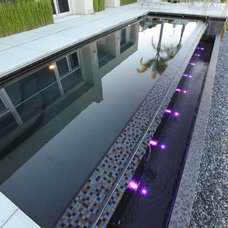 Contemporary Pool by Aquatech Pools