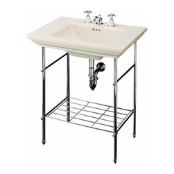 KOHLER - Kohler K-6880-CP Memoirs Table Legs - KOHLER K-6880-CP Memoirs Table Legs in Polished Chrome