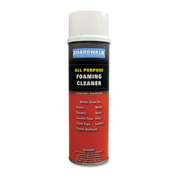 Boardwalk - Boardwalk All-Purpose Foaming Cleaner with Ammonia, 19Oz Aerosol - Fast-acting foam cleans dirt, grime and fingerprints from nonporous surfaces. Nonabrasive formula. Will not damage protective surfaces.