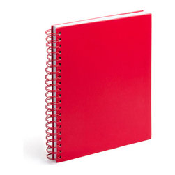 Haiphong Stationery Jsc - Spiral Notebook, Red, Large - Spiraling into control has never been so easy.Ships in: 1-2 business days