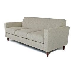 Liberty Manufacturing Company - Jackson Sofa, Smoke - Classic, clean and modern.