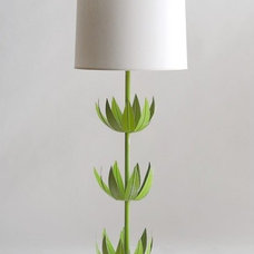contemporary table lamps by greenwithglamour