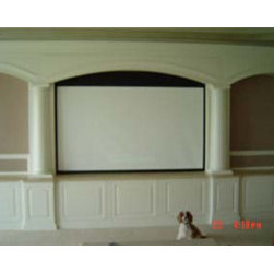 Custom Built Entertainment Center -
