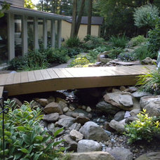 Traditional Landscape by Healy Design Inc.