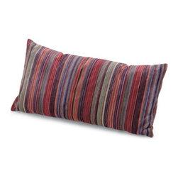 Missoni Home - Missoni Home   Nazca Pillow 12x24 - Design by Rosita Missoni, 2012.