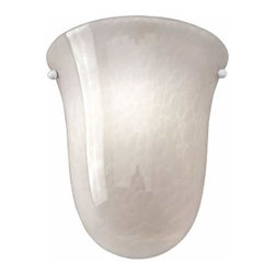 Access Lighting - Manhattan Opal Bell ADA Sconce - -Opal Glass Access Lighting - 23109-OPL