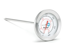 Polder Commercial Deep Fry Candy Thermometer - Now you can safely grill meat poultry and fish with no second guessing. The Digital Serve Safe Grill Instant Read Thermometer by Polder has the ability to instantly check the internal temperature of your steaks burgers chicken or fish and let you know when it is cooked to perfection.The built in USDA Temperature Chart can be used to compare your temperatures with those recommended by the USDA.