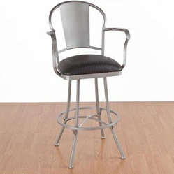 Chauser 26 in. Counter Stool - Arms - Swivel
