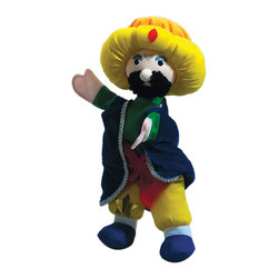 """The Original Toy Company - The Original Toy Company Kids Children Play Magic Genie - Take a Bow with this hand puppet. Size: 14""""Hx 7""""W Ages 1 year plus. Weight: 1 lbs."""