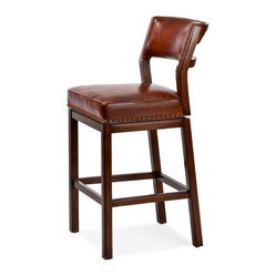Steele Farm Swivel Barstool