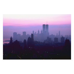 Custom Photo Factory - New York City Skyline, New York, USA Canvas Wall Art - New York City Skyline, New York, USA  Size: 20 Inches x 30 Inches . Ready to Hang on 1.5 Inch Thick Wooden Frame. 30 Day Money Back Guarantee. Made in America-Los Angeles, CA. High Quality, Archival Museum Grade Canvas. Will last 150 Plus Years Without Fading. High quality canvas art print using archival inks and museum grade canvas. Archival quality canvas print will last over 150 years without fading. Canvas reproduction comes in different sizes. Gallery-wrapped style: the entire print is wrapped around 1.5 inch thick wooden frame. We use the highest quality pine wood available. By purchasing this canvas art photo, you agree it's for personal use only and it's not for republication, re-transmission, reproduction or other use.