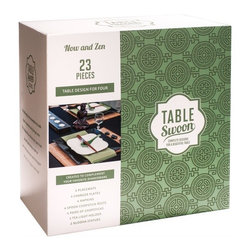 Table Swoon - Now and Zen - Table Setting - Set Includes: