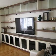 Contemporary Bookcases by Aliusta DesignLLC