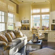 Traditional  by Alan Mascord Design Associates Inc