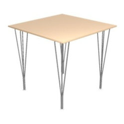 Square Span Leg Table by Fritz Hansen