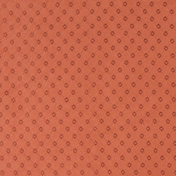 Persimmon Embroidered Diamonds Suede Upholstery Fabric By The Yard - P2721 is a heavy duty upholstery grade suede polyester fabric. This fabric is great for all indoor applications.