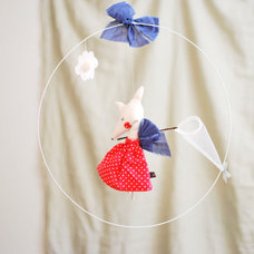 Contemporary Baby Mobiles by Leuie