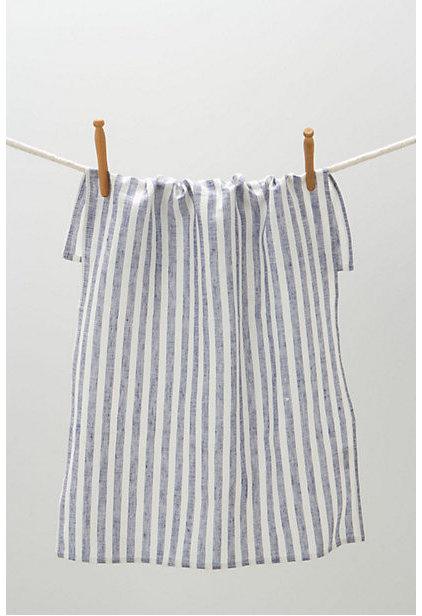Traditional Dish Towels Breton Striped Dish Towel
