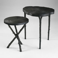 Cyan Design - Tripod Side Table - Tripod side table - old world