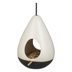 Fly By Bird Feeder - What is a garden without a little bird-watching? Provide those feathered friends with a stylish trough.