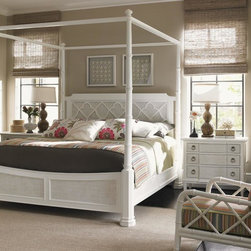 Ivory Key King Southampton Poster Bed With With Adjustable Canopy -