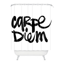 Kal Barteski Carpe Diem Shower Curtain