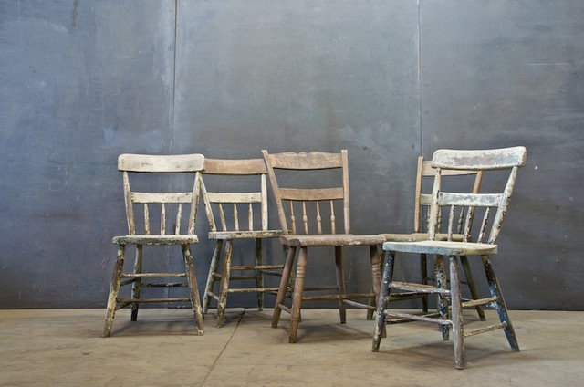 Eclectic Dining Chairs by Factory 20
