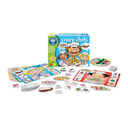 The Original Toy Company - The Original Toy Company Kids' Crazy Chefs - Join the chefs in the crazy kitchen and collect everything they need to make a meal. Then grab your plate and wait for your dish to cook. Will you be the first to serve up a tasty treat. Ages 3-7 years. 2-5 players. Made in England.