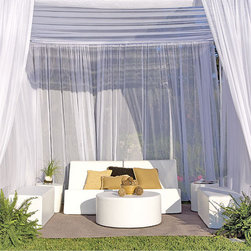 La-Fete Chic Club Now Collection - A 7-pc grouping for an instant cabana for couples