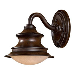 "The Great Outdoors - The Great Outdoors GO 8121-PL 1 Light 11"" Height Dark Sky Compliant Outdoor Wall - Single Light 11"" Height Outdoor Wall Sconce from the Vanira Place CollectionFeatures:"