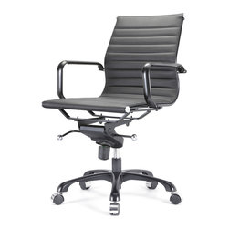 Meelano - M343 Office Chair All Black Everything -