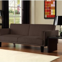 Ameriwood Metro Futon - Chocolate Brown