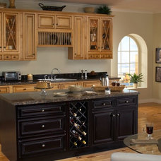 Traditional Kitchen Cabinets by Sunny Wood Products