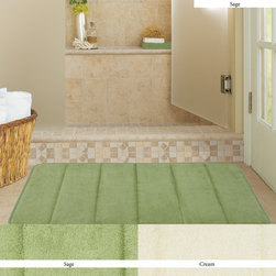 Mohawk Home Memory Foam Bath Rug - If you prefer the durability and ease of care of memory foam bath rugs fit the bill. Our memory foam rugs come with a skid resistant backing that adds a measure of safety on hard (and potentially wet) surfaces.