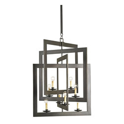Currey & Company - Middleton Chandelier - Dimensions: 39H x 28D x 28W