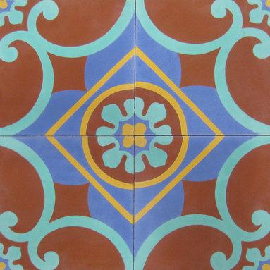 Cox Center - 8x8 Cement Tile