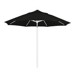 California Umbrella - 9 Foot Sunbrella Fabric Aluminum Pulley Lift Patio Market Umbrella, White Pole - California Umbrella, Inc. has been producing high quality patio umbrellas and frames for over 50-years. The California Umbrella trademark is immediately recognized for its standard in engineering and innovation among all brands in the United States. As a leader in the industry, they strive to provide you with products and service that will satisfy even the most demanding consumers.