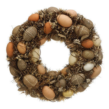Silk Plants Direct - Silk Plants Direct Easter Egg Wreath (Pack of 2) - Pack of 2. Silk Plants Direct specializes in manufacturing, design and supply of the most life-like, premium quality artificial plants, trees, flowers, arrangements, topiaries and containers for home, office and commercial use. Our Easter Egg Wreath includes the following: