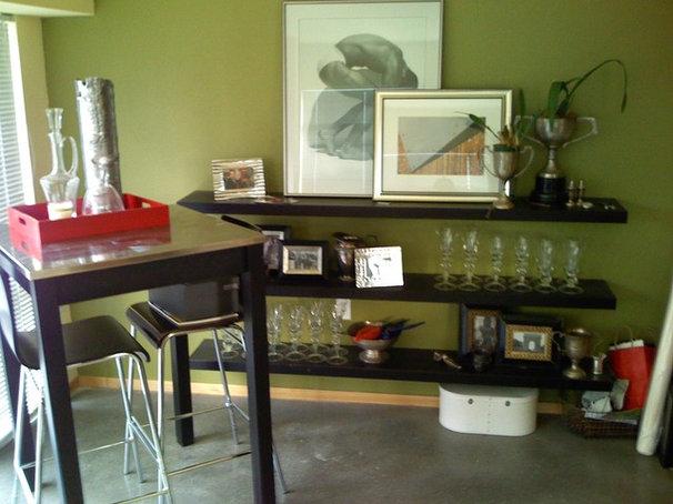 Eclectic Living Room by Timothy De Clue Design L.L.C