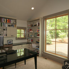 Contemporary Home Office by New Urban Home Builders