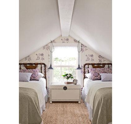 Traditional  Attic bedroom