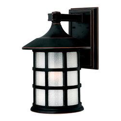 Hinkley Lighting - Hinkley Lighting 1805OP Freeport Olde Penny Outdoor Wall Sconce - Hinkley Lighting 1805OP Freeport Olde Penny Outdoor Wall Sconce