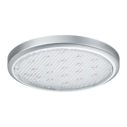 Hafele - Loox Round LED 2002 Surface Mount 3200K Worm - 12 volt LED