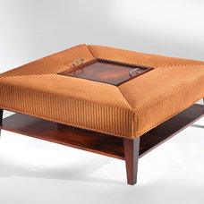 Contemporary Ottomans And Cubes by Art   Harrison Interiors & Collection