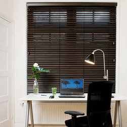 "Normandy 2"" Wood Blinds. Free Samples and Shipping! - Normandy 2"" Wood Blinds - Buy with Confidence, Get Free Samples Today!The Norman 2"" Normandy Wood Blind is made from a lightweight and  elegant warp-resistant wood, with beautiful grain. Select from a beautiful palette of painted whites and natural stains.These blinds are made from wood that is harvested from an environmen"