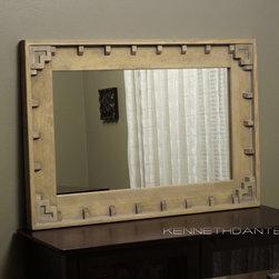 Wood Framed Mirrors - KennethDante